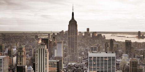 Canvas New York 50x100cm
