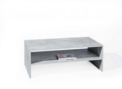 Salontafel Beton 115x60 industrieel - grijs