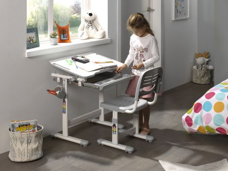 Kinderbureau Comfortline 201 - grijs