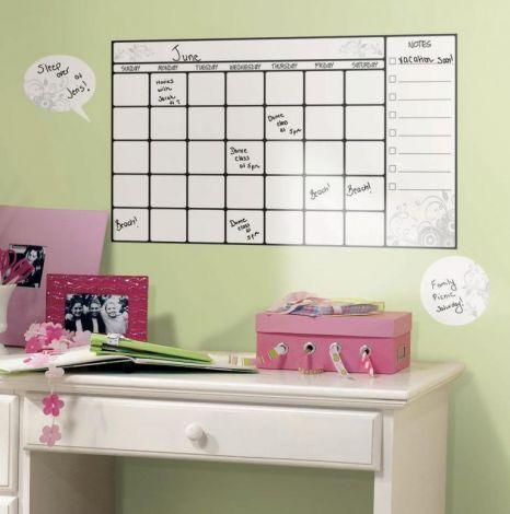 RoomMates muurstickers - Kalender whiteboard