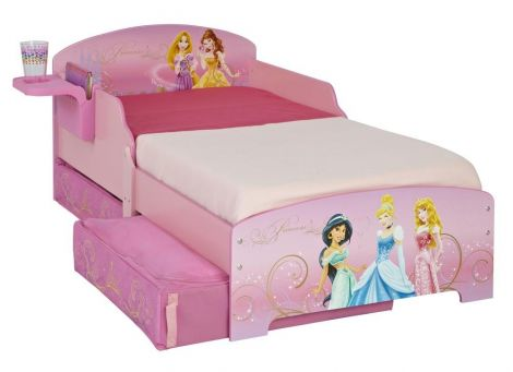 Peuterbed Disney Princess met lades