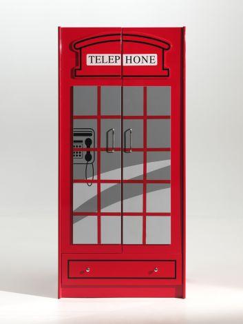 Kledingkast London 2 deuren