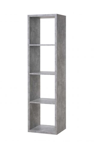 Opbergrek Max 4 vakken - beton
