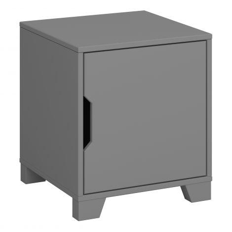 Nachtkastje Loki 1 deur - grijs