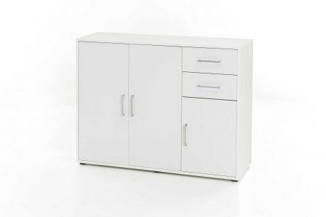 Kast Maxi-office 3 deuren & 2 laden - wit