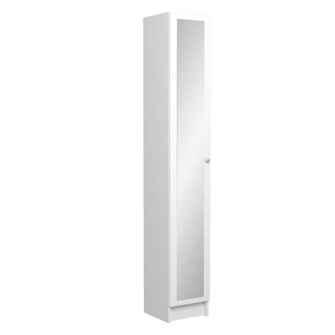 Kolomkast Fares met 1 deur - wit
