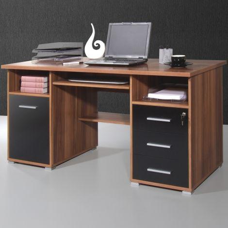 Bureau Beagle 145cm - walnoot