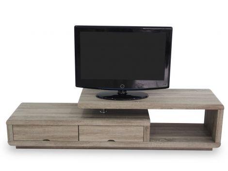 Tv-meubel Crystal 180cm - donkere sonoma