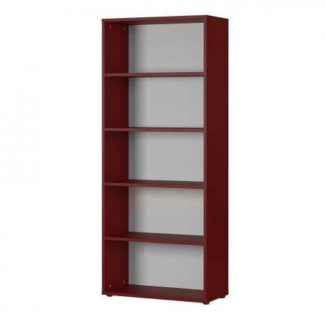 Boekenkast Osmond 80cm - rood