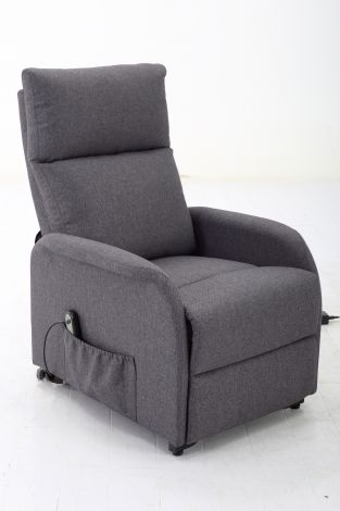Relaxfauteuil Wales - donkergrijs