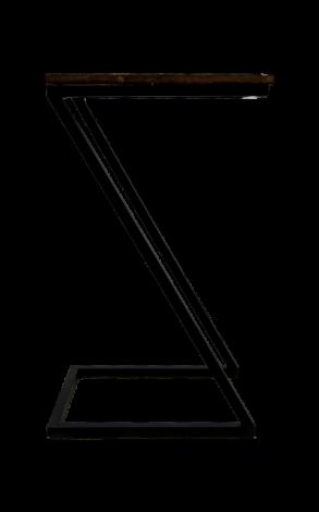 Bijzettafel Taylor - naturel / zwart
