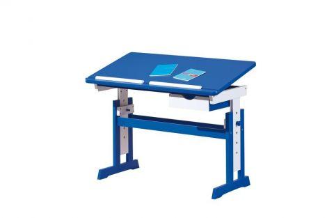 Bureau Dana - blauw - kantelbaar blad - tekentafel