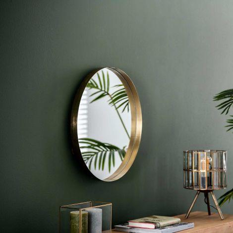 Spiegel Ro Ø50 - goud