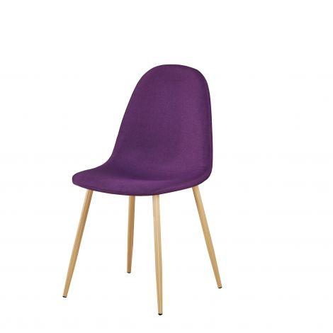 Set van 4 stoelen Yo - paars