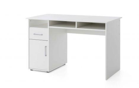 Bureau Maxi-office 125cm - wit