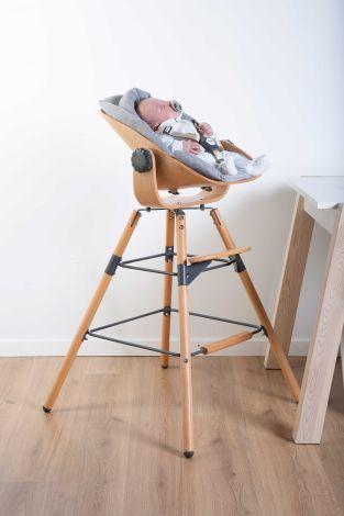 Babyzitje Newborn voor Evolu 2 en Evolu ONE.80° - naturel/antraciet