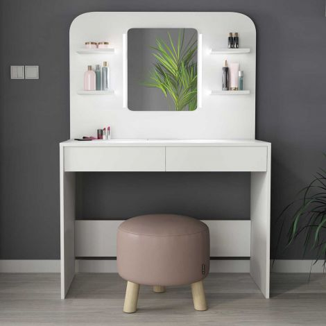 Make-uptafel Secret - wit