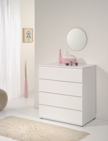 Commode Neo 5 laden - wit