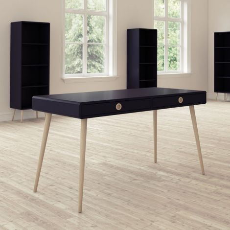 Bureau Linz 114cm - zwart