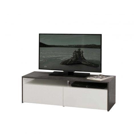 TV-meubel San Francisco - beton/wit