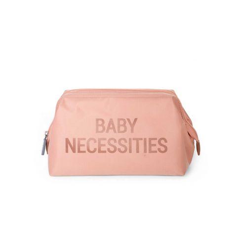 Toilettas Baby Necessities - roze/koper