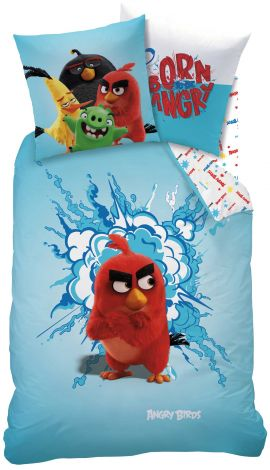 Dekbedovertrek Angry Birds Red