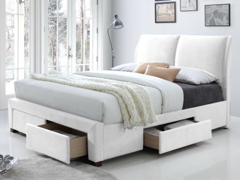Bed Babano 140x200 - wit