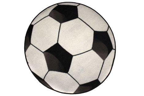 Tapijt Football Ø80cm