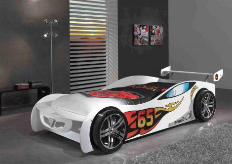 Autobed Le Mans - wit