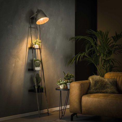 Wandrek met lamp Brecht