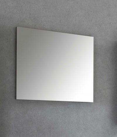 Badkamerspiegel Benja zonder kader - grafietgrijs