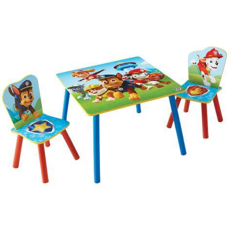 Kindertafel met stoeltjes Paw Patrol