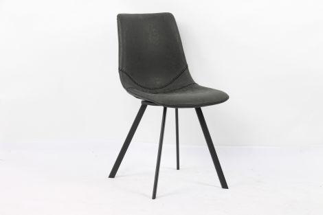 Set van 2 stoelen Norway - zwart