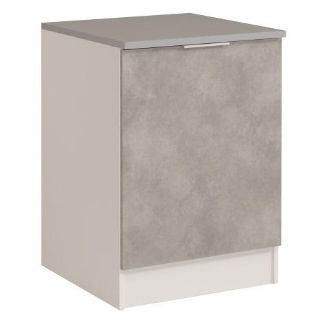 Onderkast Spoon 60 cm met deur - beton