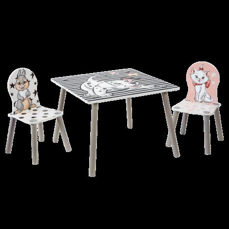 Kindertafel met stoeltjes 101 Dalmatiërs