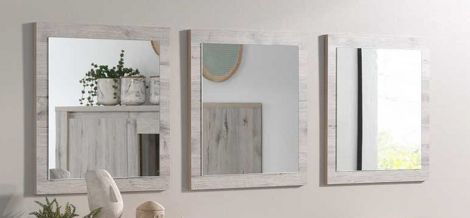Set van 3 spiegels Warschau