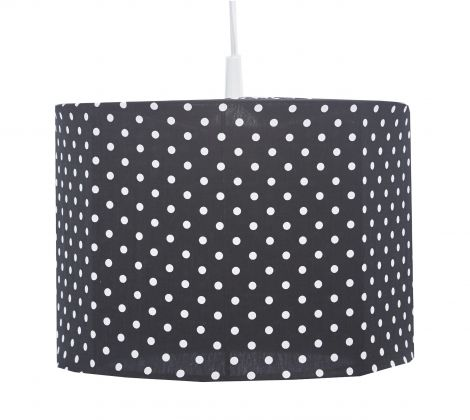 Hanglamp Dots - zwart/wit