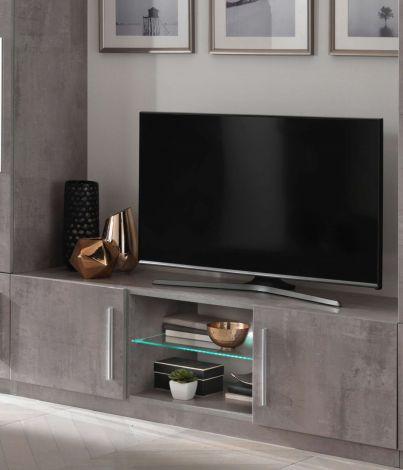Tv-meubel Greta 156 cm - beton