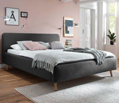Bed Tony 160x200 - antraciet