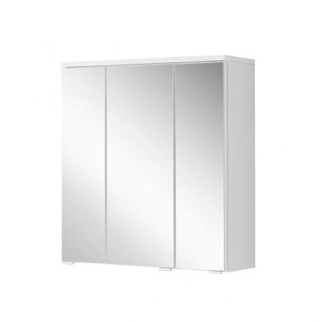 Spiegelkast Pollet 60cm 3 deuren - wit