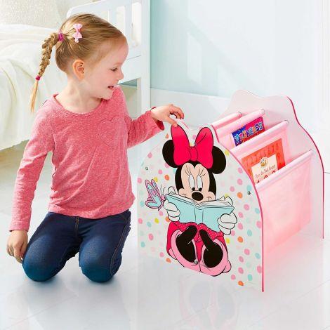 Minnie Mouse - Boekenrek met opbergvakken