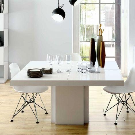 Eettafel Dusk 150x150 - wit
