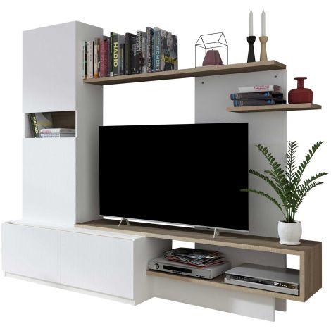 Tv-meubel Boris met legplanken