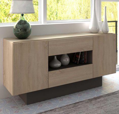 Dressoir / Tv-meubel Ivo 160cm - bruin
