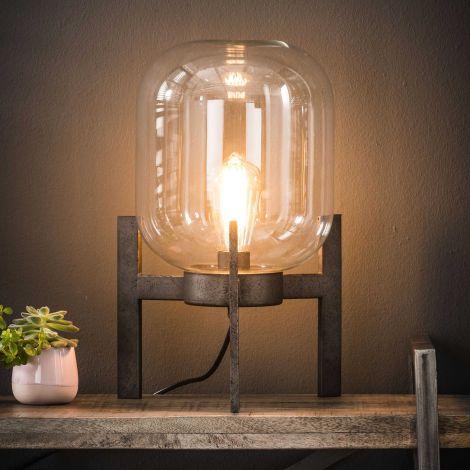 Tafellamp Glass met frame