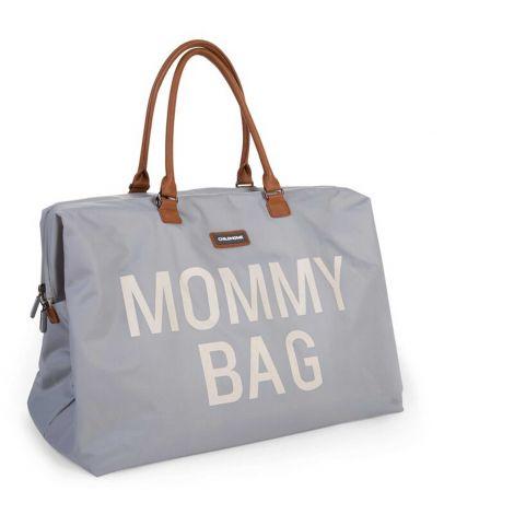 Luiertas Mommy Bag - grijs/ecru