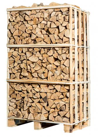 Ovengedroogd brandhout - es 1,8m³