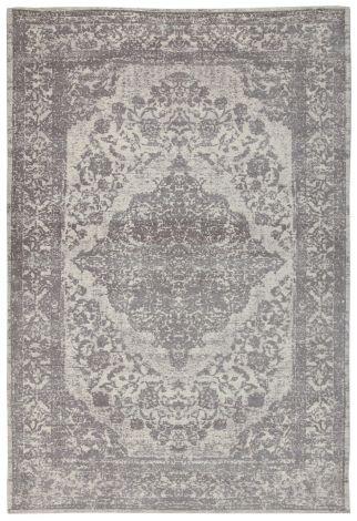 Vloerkleed Argentella Medaillon 230x160 - Grijs