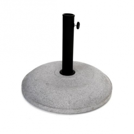 Ronde parasolvoet - cement