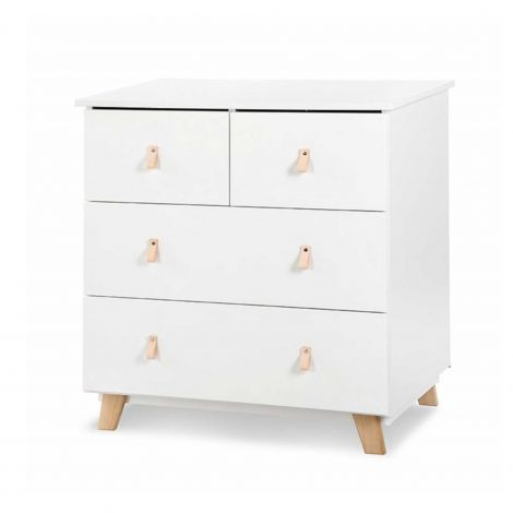 Commode Neil 4 lades - wit